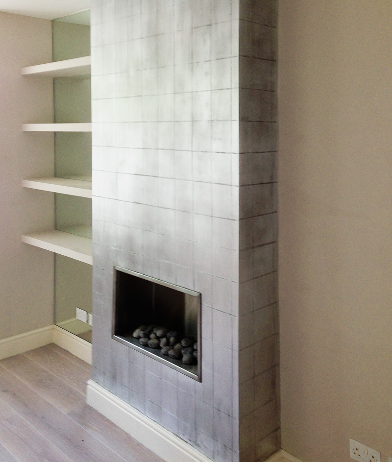 Fireplace, London